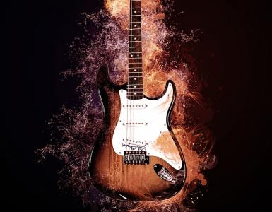 Kitara tulessa