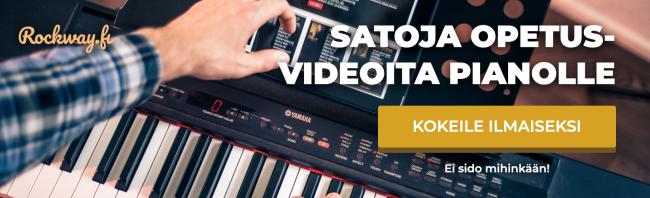 piano opetusvideot