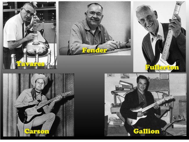 Stratocasterin isät